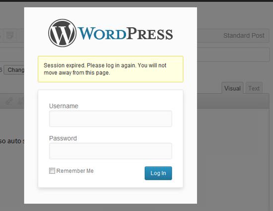 WordPress 3.6 Autosave